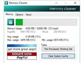 Как очистить оперативную память компьютера на Windows 10?